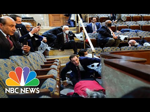 Congressman Opens Up About Post-Traumatic Stress After Jan. 6 Insurrection   NBC Nightly News