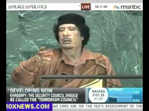 Best of Gadaffi Speech To United Nations 2009 #Libya