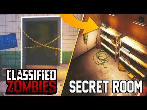 SECRET ROOM IN CLASSIFIED FOUND  - MAIN EASTER EGG USE!?! (Black Ops 4 Zombies)