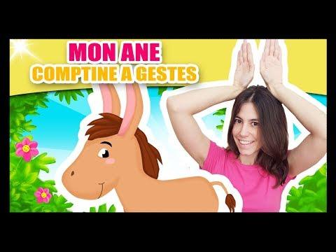 Mon âne - Comptines à gestes pour bébé - Titounis