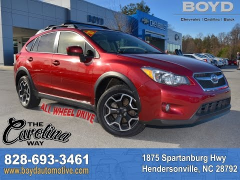 C27089 - 2015 Subaru Crosstrek - Venetian Red Pearl - YouTube