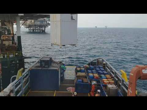 Offshore Cargo Operation | Snatching