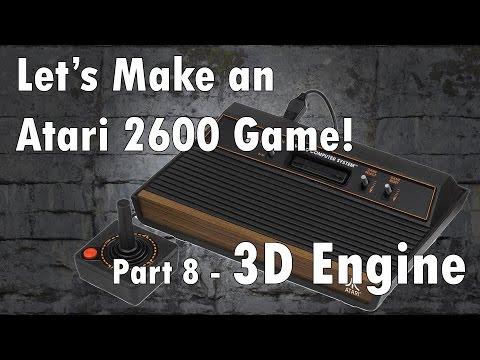 Let's Make an Atari 2600 Game! Part 8 - 3D Engine