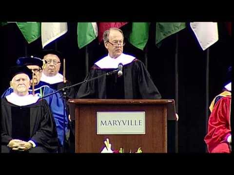 Maryville University Graduation Ceremony 2015