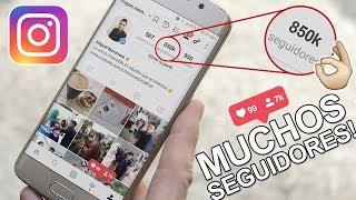 Como Conseguir Muchos Seguidores en Instagram Fácil y Rápido! thumbnail