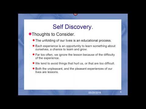 Self Discovery - with Bill Bunting