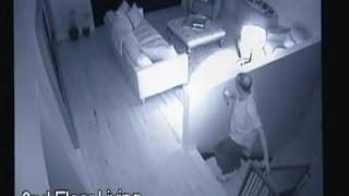 Burglar Caught on Camera With Homeowners Still Inside