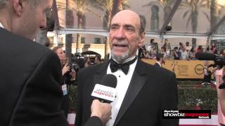 showbiz express ross crystal with f murray abraham of homeland