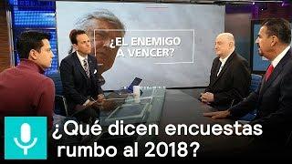 Encuestas presidenciales en México rumbo al 2018, el análisis - Despierta con Loret