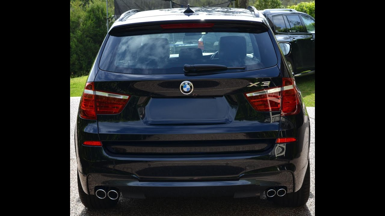 Exhaust SOUND TEST BMW X3 28i Enzotuned w Custom Down Pipes VS