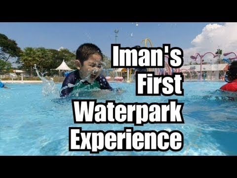 First Water Park Experience