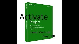 Microsoft Project Pro 2016 Easy Activation Latest Method 2018