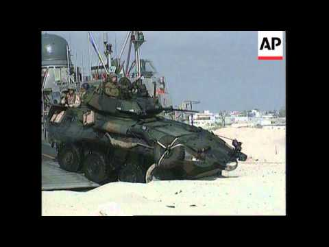 Somalia - US & Italian Troops Arrive In Mogadishu
