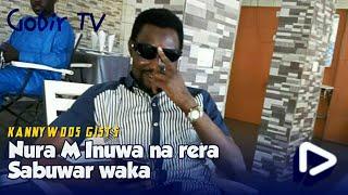 Nura M Inuwa yana rera waka a dakin kidi - Sha'ani na so: Sabuwar Waka