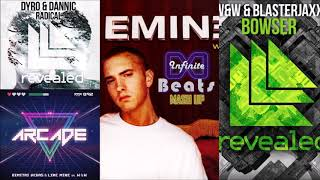 Eminem - Without me vs. Arcade vs. Browser vs. Radical (Infinite Beats Mashup)