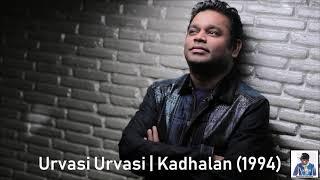 Urvasi Urvasi   Kadhalan (1994)   A.R. Rahman [HD]