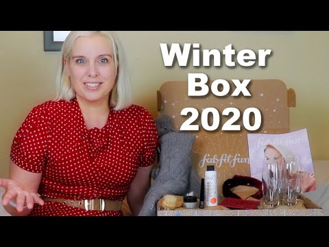 FabFitFun Winter Box 2020 ❄️ In Time for the Holidays ❄️