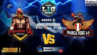 🔴Fussion CR VS MARCA PERU 3.3 LIG RONDA N°1 i....Clash of Clans