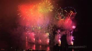 諏訪湖祭湖上花火大会(立石公園2/2) Fireworks of the Suwa lake