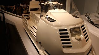 1981 Military SKI DOO ALPINE Snowmobile - Bombardier Museum - fully restored