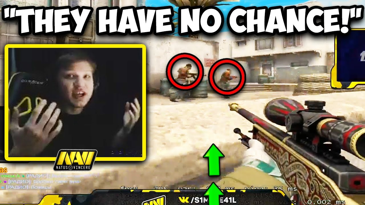 S1MPLE SHOWS HOW TO DOMINATE ON DUST 2 WITH AWP! CS:GO Twitch Clips