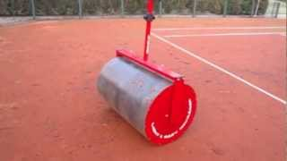 EASY ROLLER on the Tennis Court