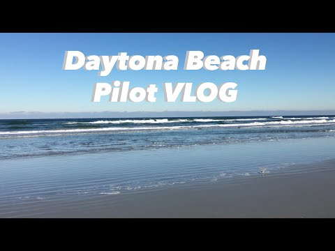 A Trip To Daytona Beach| Pilot VLOG