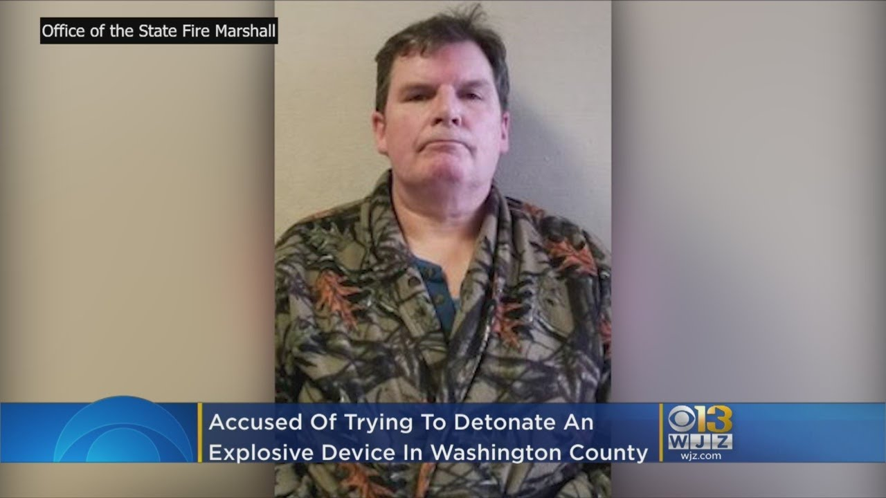 White Man Terrorist Charged With Possessing Improvised Explosive Device