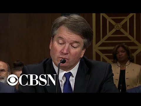 Kavanaugh questioned on high school drinking and sex