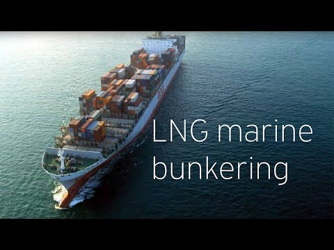LNG marine bunkering