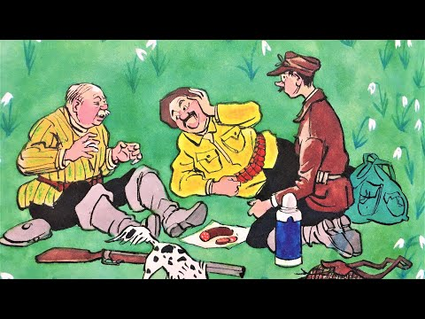 Мультфильм по рассказу носова три охотника