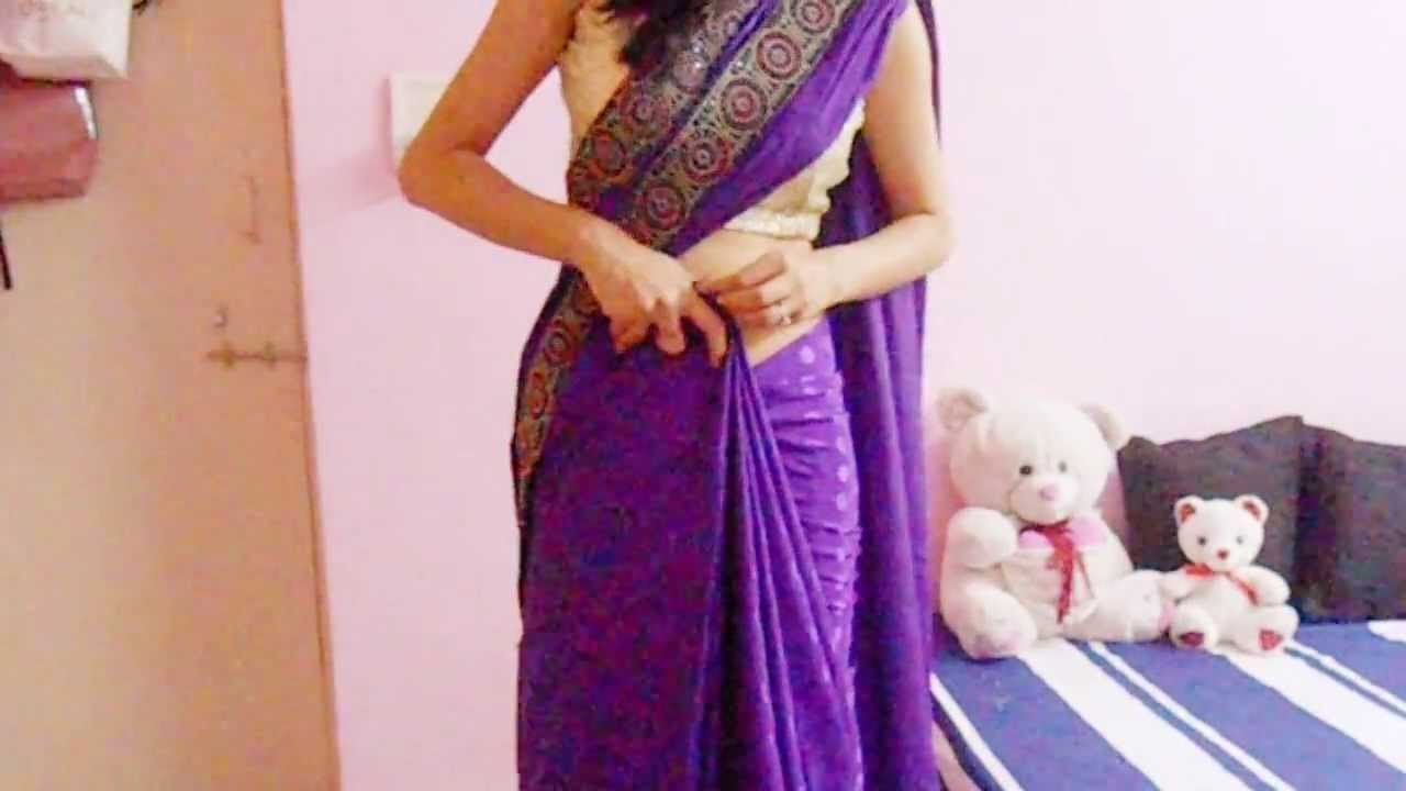 How To Wear Saree Video