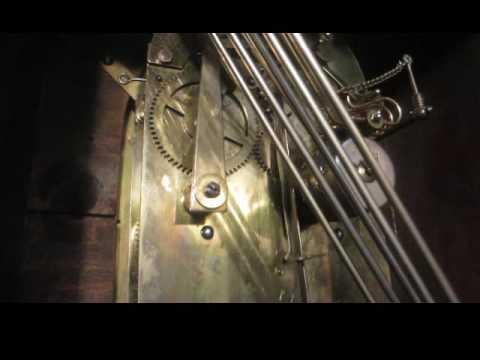 K.C. Co Germany (Junghans) Chiming Shelf Mantel Clock Germany 1911