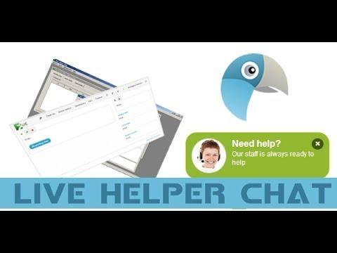 Chat Online Gratuito - Instalação Do Live Helper Chat
