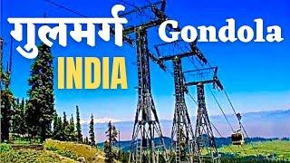 Gulmarg Gondola Ride Kashmir India *HD* - Worlds Highest Cable Car - Afarwat Peak 13,780 ft  *HD*