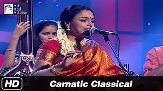 Sudha Raghunathan | Carnatic Classical | Valli Kanawaterai | Raag - Kavadi Chindu