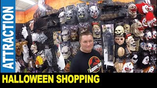 Halloween in America [Part 1] scary masks outfits haunted house   Jarek in Clearwater Florida USA
