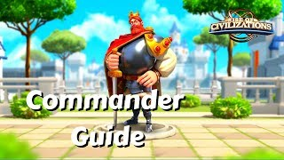 Commander Guide: Frederick 1 - Is his first skill broken good??? | Rise of Civilizations