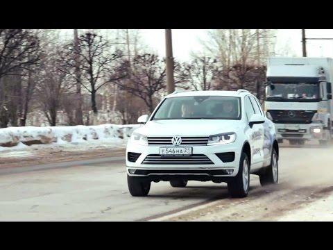 Volkswagen Touareg (2015) Тест-драйв.Anton Avtoman