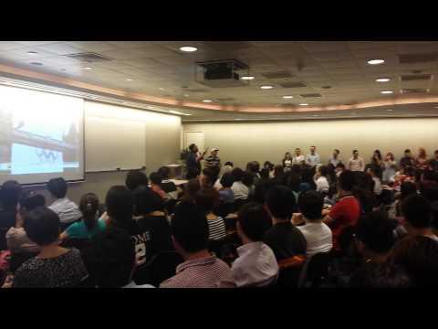 My Speech on 20th May at One Marina Boulevard