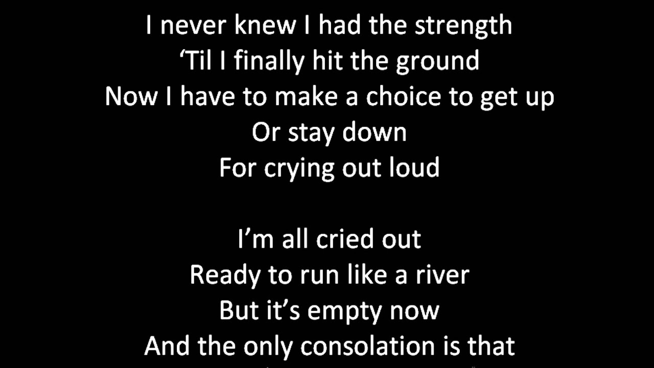 Lisa Lisa and Cult Jam – All Cried Out Lyrics | Genius Lyrics