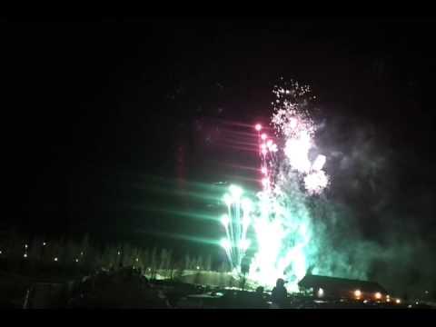 Fireworks-New Years Downtown Wasilla Alaska-1