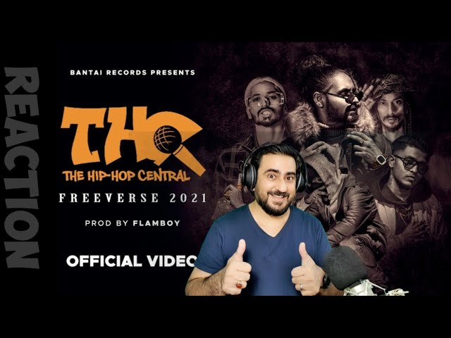 Pakistani Reacts to EMIWAY - THC CYPHER (Freeverse 2021) DOPEADELICZ | BANTAI RECORDS | IAmFawad