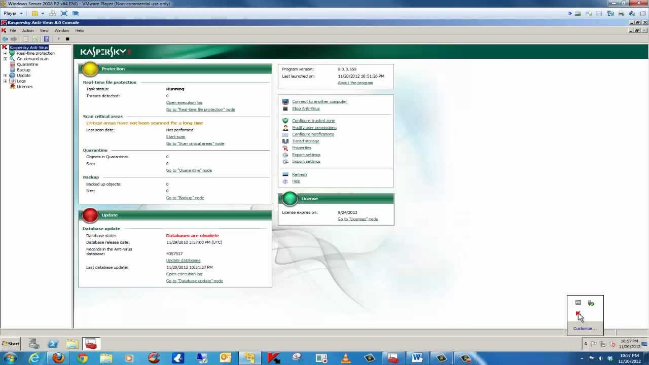 How to manage kaspersky endpoint security 10 for windows via the.
