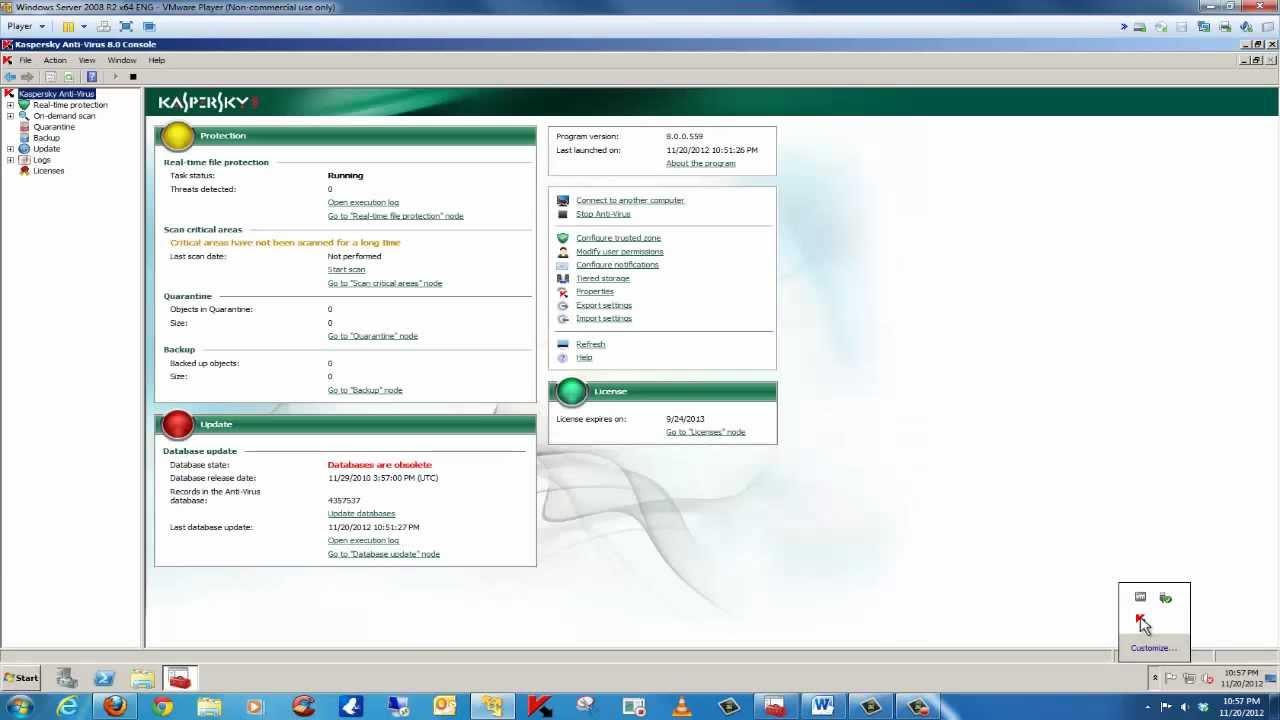 How to install Kaspersky Anti Virus 8 Enterprise Edition via Security  Center 9