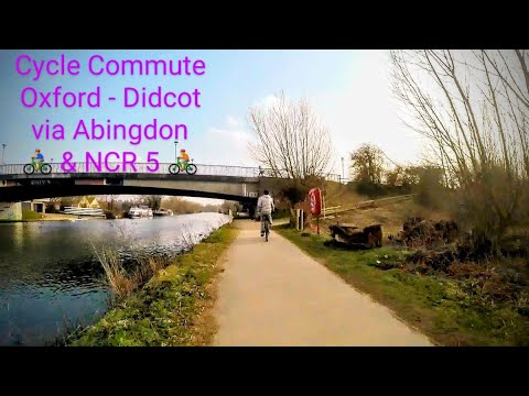 Oxford to Didcot via Abingdon on Thames Cycle Commute