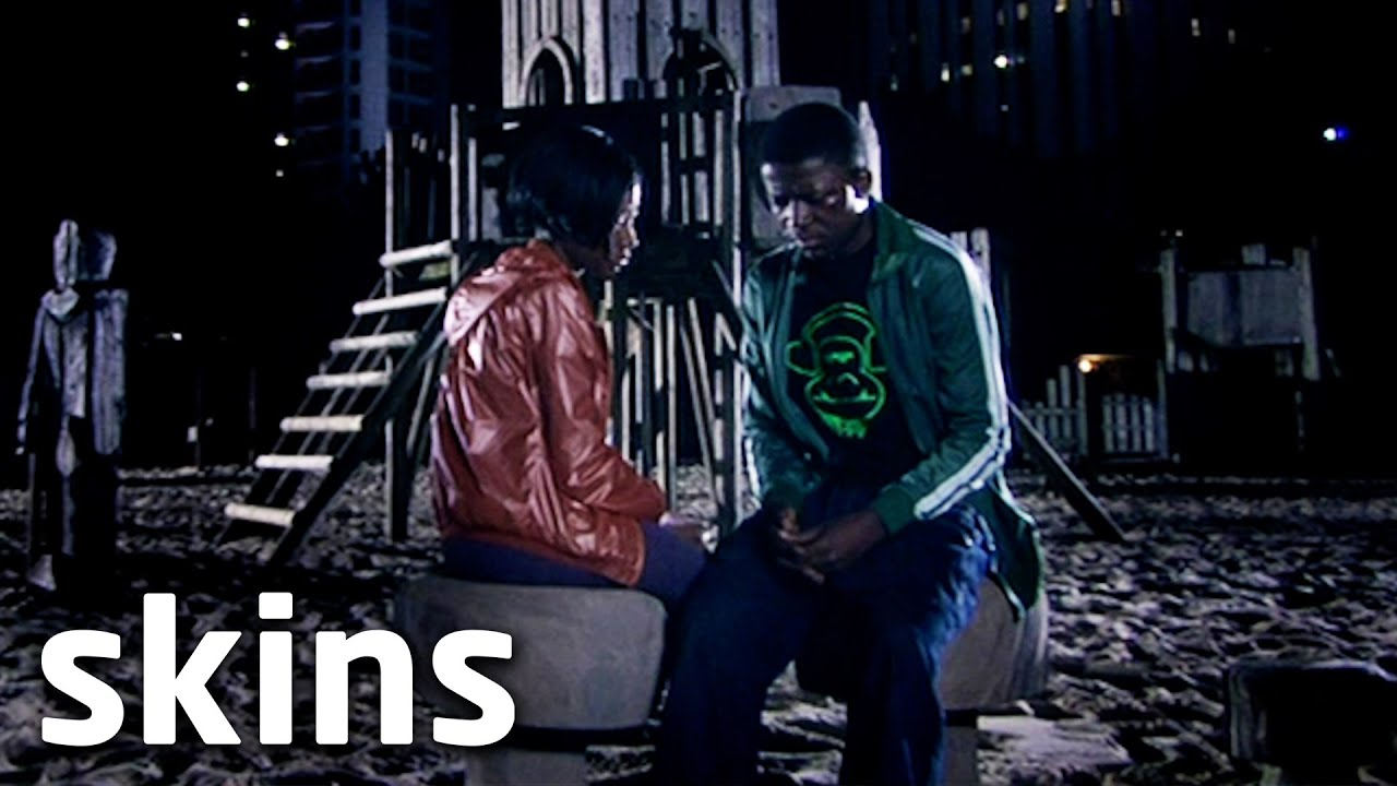 Thomas Shows Up Drunk To Andrea's House | Skins