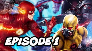 The Flash Season 4 Arrow Crisis On Earth X Episode Easter Eggs - Arrow Supergirl Part 1