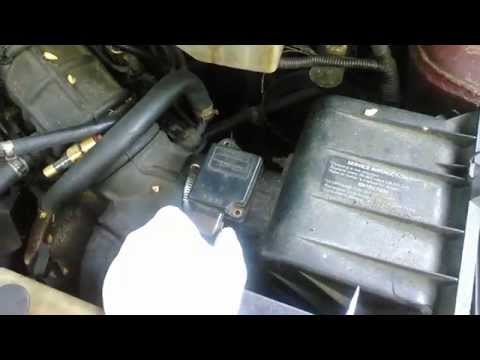Mass Air Flow Sensor how to remove/replace 1998 Mercury Villager diy