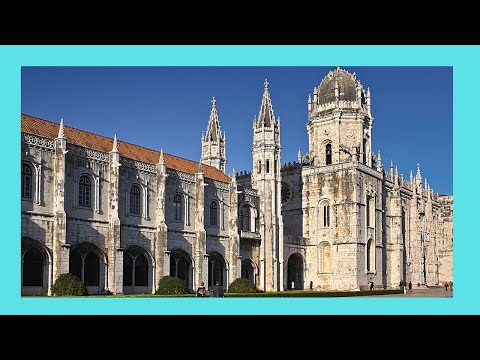 Historic Jerónimos Monastery, Lisbon (Portugal), outside views